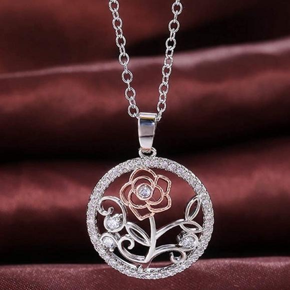 Kit-7Strand Rose necklace